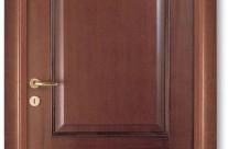 Usa Pinum din lemn, model 2PB, furniruita Nuc de Tanganica Baituit