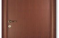 Usa Pinum din lemn, model NT, furniruita Nuc de Tanganica Baituit